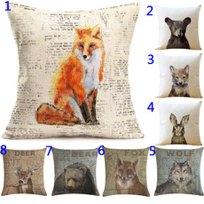 pillowcover18x18, animalpillowcover, Cover, Deer