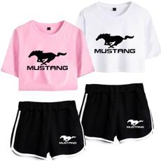 2pieceset, women beachwear, SEXY CROP TOP, T Shirts