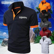 Summer, Plus Size, Shirt, Polo T-Shirts