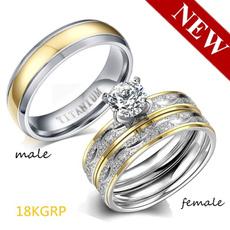 Couple Rings, ringsformen, Engagement Wedding Ring Set, Princess