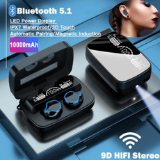 Flashlight, Headset, Microphone, led