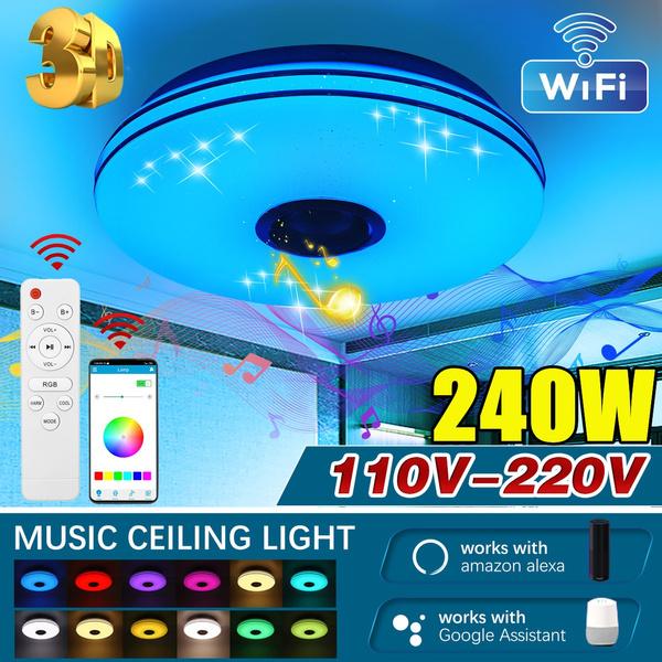 rgbceilinglight, ledceilinglight, led, Speakers