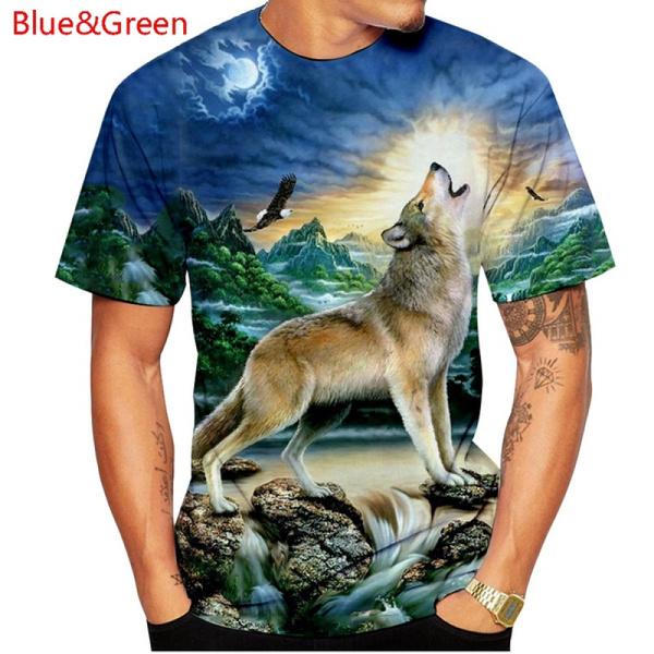 Funny T Shirt, Tops, short sleeves, wolftshirt