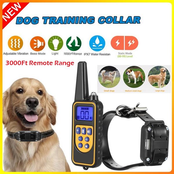 barkingstopper, Rechargeable, Remote, trainingdogcollar
