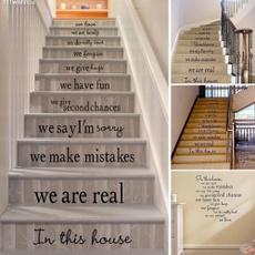 Home & Kitchen, stairsticker, staircase, 3dwallsticker