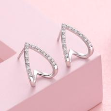 Cubic Zirconia, Fashion, Triangles, Jewelry