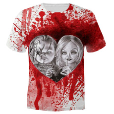 Shorts, horrormovietshirt, Sleeve, chucky