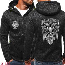 hooded, coatsampjacket, Coat, zippers
