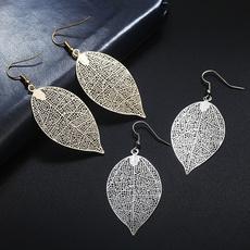 Women, Dangle Earring, leaf, Jewelry