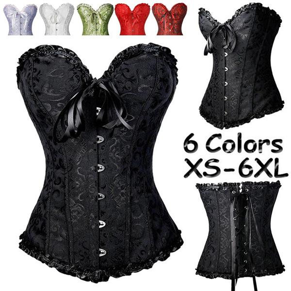 corset top, corsetsforwomen, Black Corset, Plus Size
