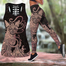Leggings, Fashion, Tank, skinny pants