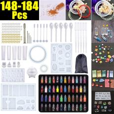 Craft, epoxyresinkit, Jewelry, siliconemould