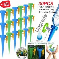 planting, plantswateringspike, miniirrigationdripper, houseplant