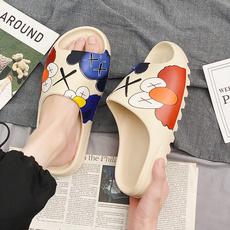 Slippers, slide, Sandals, sandybeach