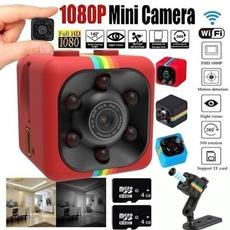 Mini, videocamera, securitycameraswirele, Photography