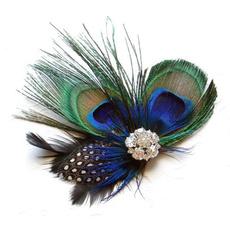 cute, cutepeacock, peacock, featherhairclip