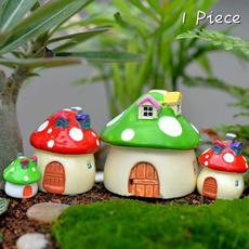 Mini, fairystatuegarden, mosslandscape, Garden