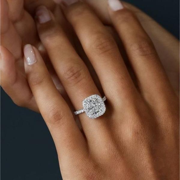 White Gold, wedding ring, gold, rhinestonering