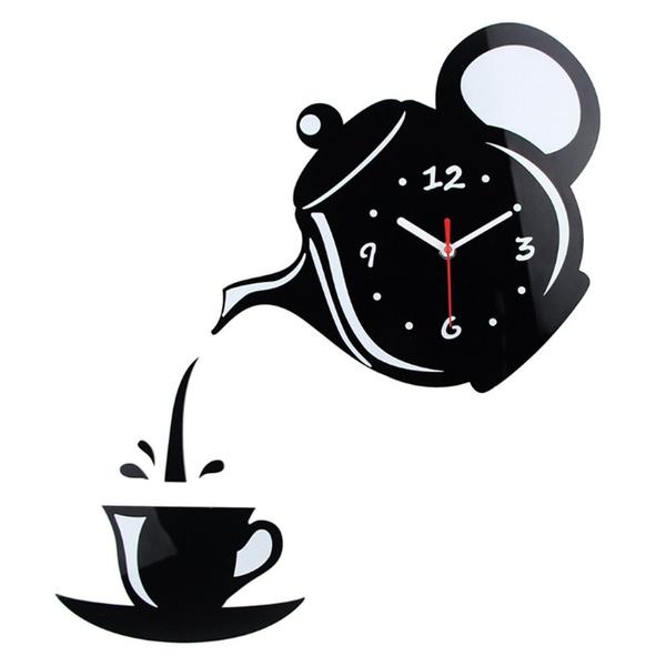 Decorative, Coffee, Home Decor, Clock
