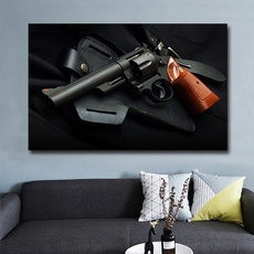 Decor, glock, art, Home Decor