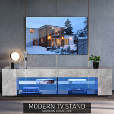 tvlight, woodtvcabinet, Modern, led