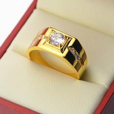 yellow gold, DIAMOND, wedding ring, gold