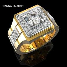 ringsformen, DIAMOND, gold, 18k gold ring