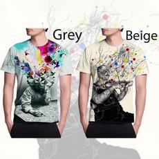 Summer, Fashion, Men's Fashion, abstracttshirt
