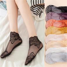 black, Shorts, Lace, Fish Net