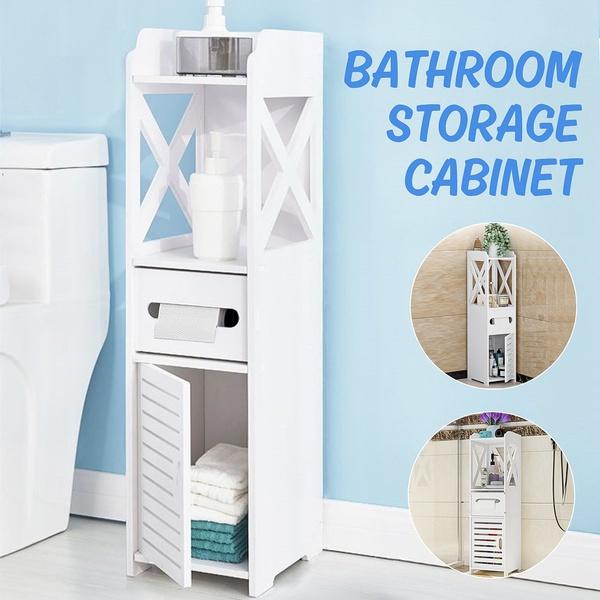 Storage & Organization, Bathroom, cornercabinet, garagewireshelving