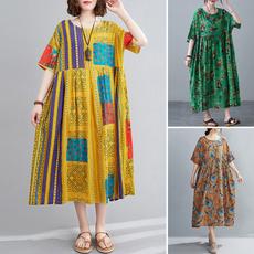 dressforwomen, printeddres, Necks, Sleeve
