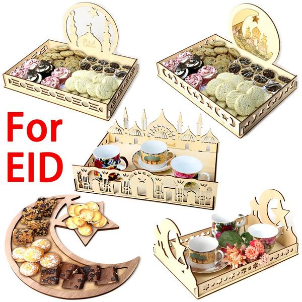 Home & Kitchen, Decor, muslimdesserttray, ramadandecor