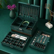 organizersandstorage, Jewelry, diamondstoragebox, leather