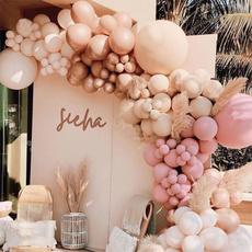 pink, decoration, Decor, Garland