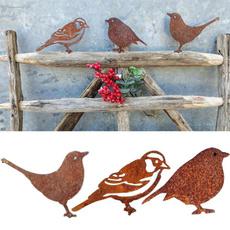 Blues, decoration, simulationbird, ornamentsstatue