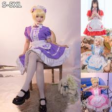 maidcostume, Plus Size, animecosplaycostume, Cosplay Costume