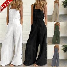 Women Pants, Plus Size, Cotton, pants