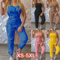 Women Rompers, Fashion, high waist, pants
