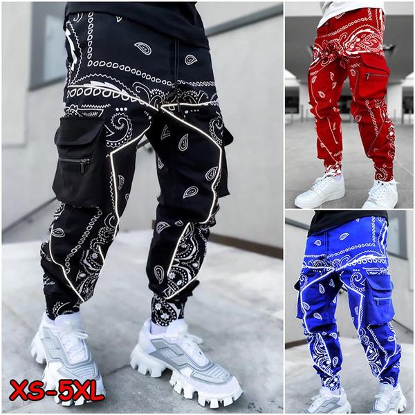 Hip Hop, joggersmen, Plus Size, pants