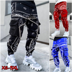 Hip Hop, joggersmen, Plus Size, pants