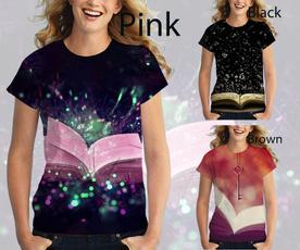 Fashion, ladiestshirt, 3dprintingtshirt, T Shirts