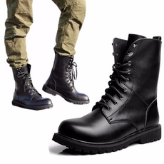 ankle boots, combat boots, Fashion, Leather Boots