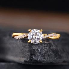 DIAMOND, Infinity, Jewelry, gold