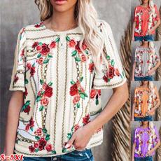 blouse, Shorts, Sleeve, Plus Size