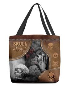 wishtotebag, trymybest, skull, Totes