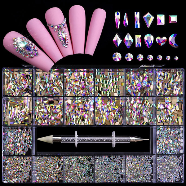 nail decoration, nail stickers, art, nailrhinestone