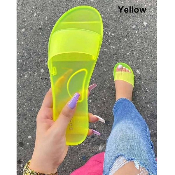 Summer, Sandals, candy color, beach shoes