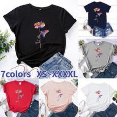 butterfly, Summer, Shorts, Shirt