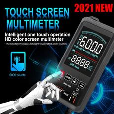 Touch Screen, amperemeter, voltmeter, digitalmultimeter