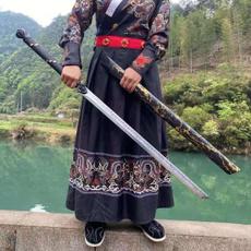 Beautiful, warrior, Outdoor, Chinese